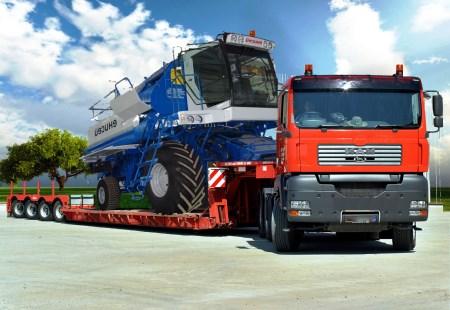 перевозка негабаритных грузов низкорамными тралами