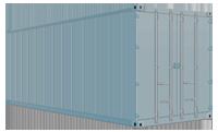 Герметичный контейнер для морских перевозок