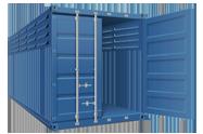 Вентелируемый 20-ти футовый контейнер