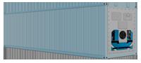 40-ка футовый рефрижераторный контейнер для морских перевозок
