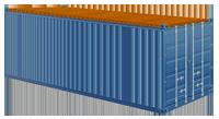 40-ка футовый контейнер с открытым верхом