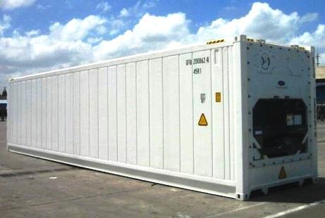 Перевозка мяса морем в контейнерах