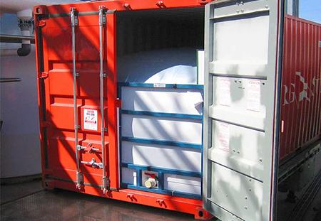 Перевозка наливных грузов флекситанками