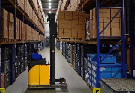 Паллетное хранение грузов на складе
